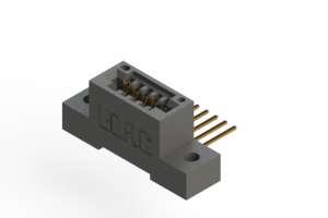 """395-005-559-102 - .100"""" (2.54mm) Pitch   Card Edge Connector"""