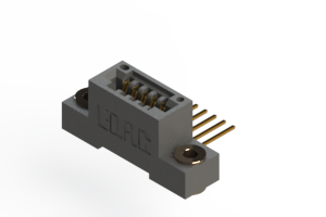 """395-005-559-103 - .100"""" (2.54mm) Pitch   Card Edge Connector"""