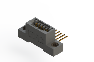 """395-005-559-107 - .100"""" (2.54mm) Pitch   Card Edge Connector"""