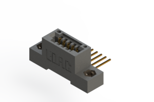 """395-005-559-108 - .100"""" (2.54mm) Pitch   Card Edge Connector"""