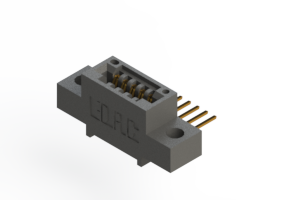 """395-005-559-404 - .100"""" (2.54mm) Pitch   Card Edge Connector"""