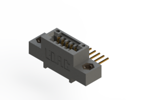 """395-005-559-407 - .100"""" (2.54mm) Pitch   Card Edge Connector"""