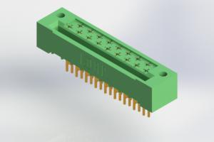 408-017-503-122 - Card Edge | Metal to Metal 2 Piece Connectors
