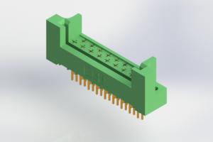 408-017-503-222 - Card Edge | Metal to Metal 2 Piece Connectors