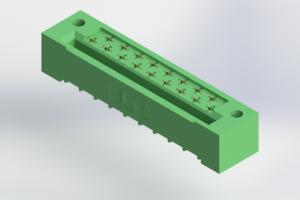 408-017-522-122 - Card Edge | Metal to Metal 2 Piece Connectors