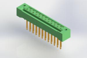 408-023-540-122 - Card Edge | Metal to Metal 2 Piece Connectors