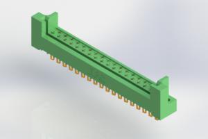 408-035-500-222 - Card Edge | Metal to Metal 2 Piece Connectors