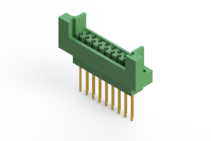 415-017-542-222 - Card Edge | Metal to Metal 2 Piece Connectors
