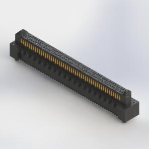472-100-529-001 - High Speed Card Edge Connector