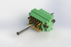 516-020-501-201 - Rack & Panel Connector