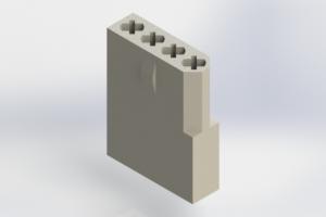 556-004-000-101 - Rack & Panel Connector