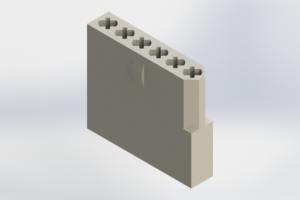 556-006-000-101 - Rack & Panel Connector