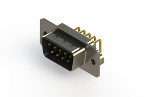 621-M09-260-LT2 - Right Angle D-Sub Connector