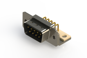 621-M09-260-LT4 - Right Angle D-Sub Connector