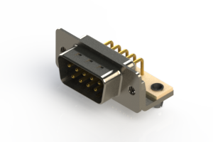 621-M09-260-WN3 - Right Angle D-Sub Connector
