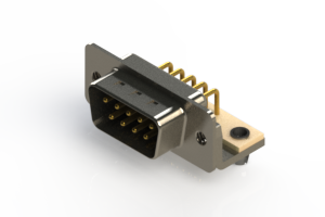 621-M09-360-BN3 - Right Angle D-Sub Connector