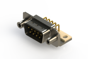 621-M09-360-BN6 - Right Angle D-Sub Connector