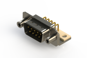 621-M09-360-BT6 - Right Angle D-Sub Connector