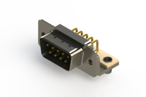 621-M09-360-GN3 - Right Angle D-Sub Connector