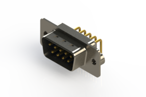 621-M09-360-LN2 - Right Angle D-Sub Connector