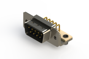 621-M09-360-LN3 - Right Angle D-Sub Connector