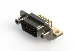 621-M09-360-LT6 - Right Angle D-Sub Connector