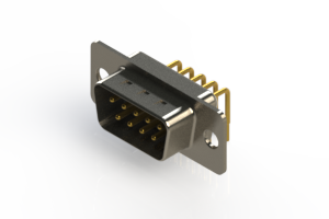 621-M09-360-WN1 - Right Angle D-Sub Connector