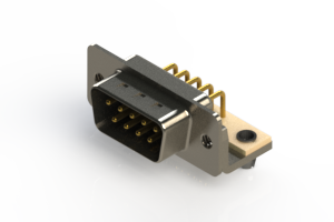 621-M09-660-BN3 - Right Angle D-Sub Connector