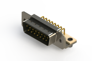 621-M15-260-GN3 - Right Angle D-Sub Connector