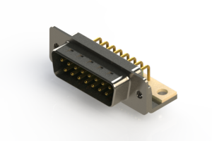 621-M15-260-GN4 - Right Angle D-Sub Connector