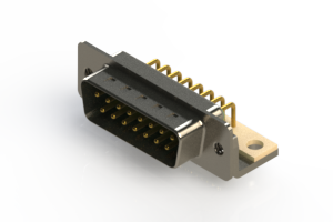 621-M15-260-GT4 - Right Angle D-Sub Connector