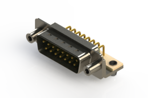 621-M15-260-GT5 - Right Angle D-Sub Connector
