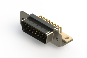 621-M15-260-LN4 - Right Angle D-Sub Connector