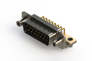 621-M15-260-LN5 - Right Angle D-Sub Connector