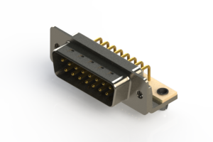 621-M15-260-WN3 - Right Angle D-Sub Connector