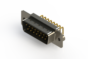 621-M15-360-BN2 - Right Angle D-Sub Connector