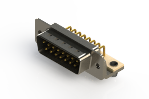 621-M15-360-BN3 - Right Angle D-Sub Connector