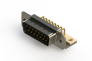 621-M15-360-BN4 - Right Angle D-Sub Connector