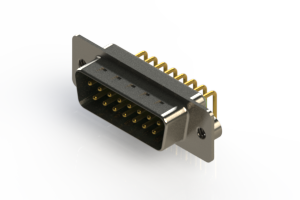 621-M15-360-GN2 - Right Angle D-Sub Connector
