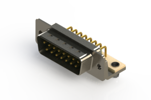 621-M15-360-GN3 - Right Angle D-Sub Connector