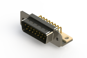 621-M15-360-GN4 - Right Angle D-Sub Connector
