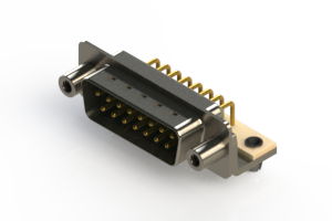 621-M15-360-GN5 - Right Angle D-Sub Connector
