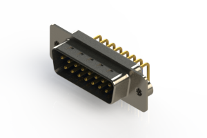 621-M15-360-LN2 - Right Angle D-Sub Connector