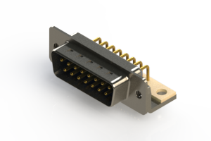 621-M15-360-LN4 - Right Angle D-Sub Connector