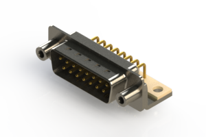 621-M15-360-WN6 - Right Angle D-Sub Connector