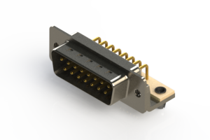 621-M15-360-WT3 - Right Angle D-Sub Connector