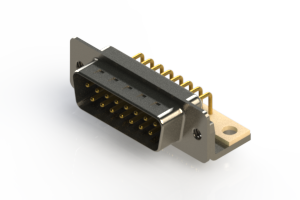 621-M15-360-WT4 - Right Angle D-Sub Connector