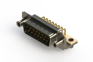 621-M15-360-WT5 - Right Angle D-Sub Connector
