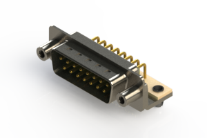 621-M15-660-GT5 - Right Angle D-Sub Connector