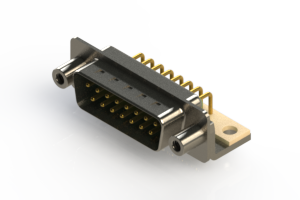621-M15-660-GT6 - Right Angle D-Sub Connector